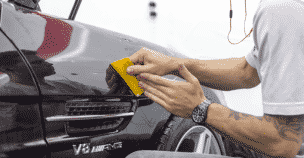 mercedes-benz ottawa xpel paint protection sl55 amg