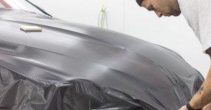 Jaguar Carbon Wrap - Goldwing Autocare | Ottawa