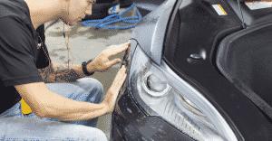 tesla paint protection xpel p85d ottawa xpel-installation-ottawa clearbra-install ottawa-clearshield
