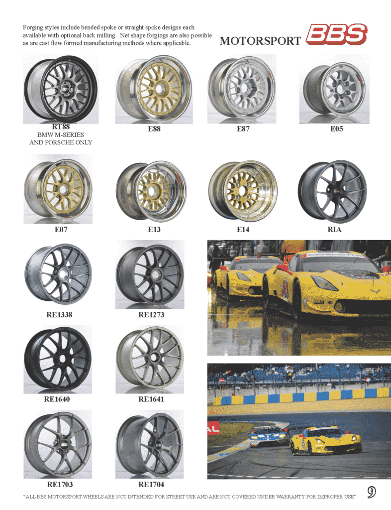 2017 BBS Wheel Catalog | Ottawa